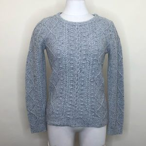 Biden cable knit sweater